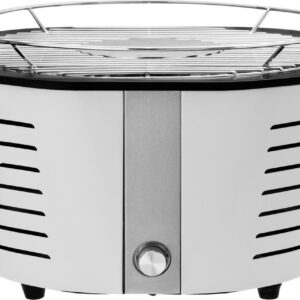 Mustang Penny white Electrische houtskool barbecue - Electrisch - Rvs - 4.4 kg (6410413128347)