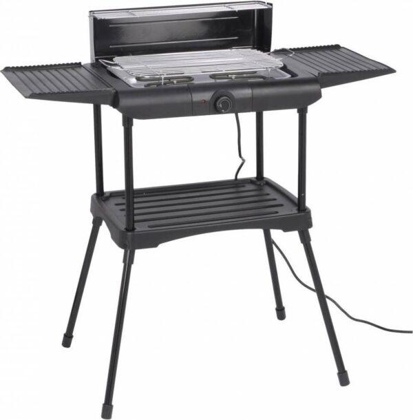 Relaxwonen Elektrische Barbecue - Grilloppervlak (LxB) 40x38 cm - Inclusief onderstel - Zwart (8720094244907)